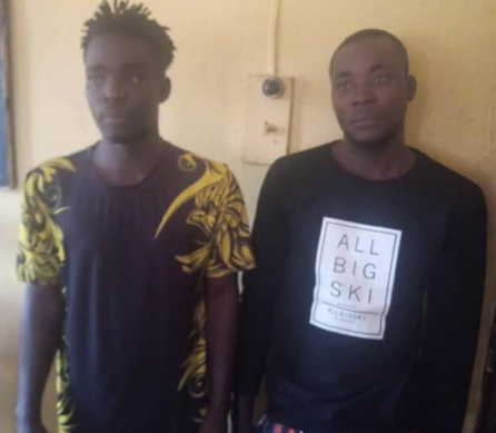 Two men arrested for generating fake bank alerts in Anambra