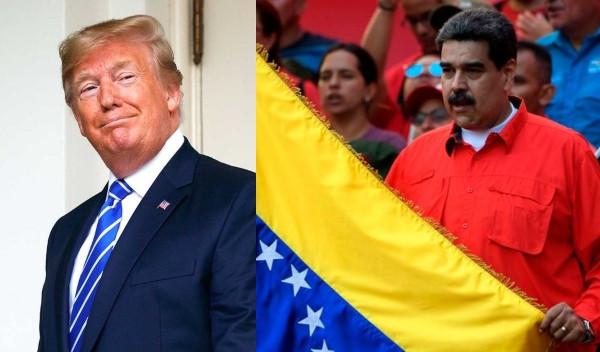 Trump freezes all Venezuelan government