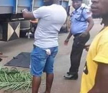 Photos: Trailer crushes commercial motorcyclist and female passenger to death in Benue