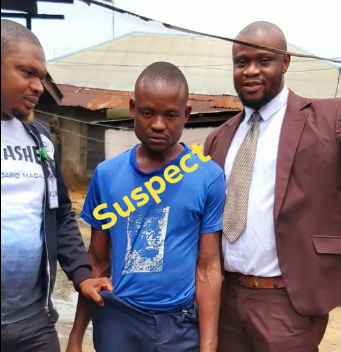 Photos: 40 year old man arrested for defiling 9 year old step-daughter in Rivers, blames his wife