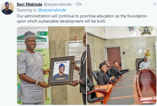 Governor Seyi Makinde approves N500k bursary for Oyo students in law school