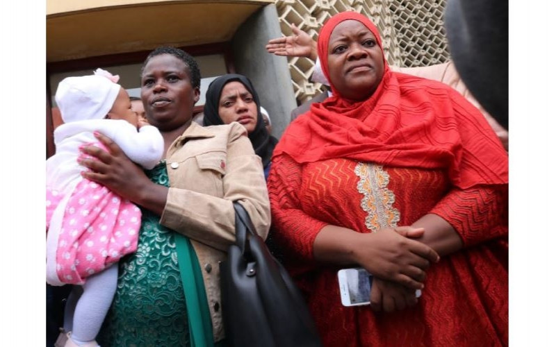 Drama as lawmaker is kicked out of Parliament for bringing her baby to the chambers (video)