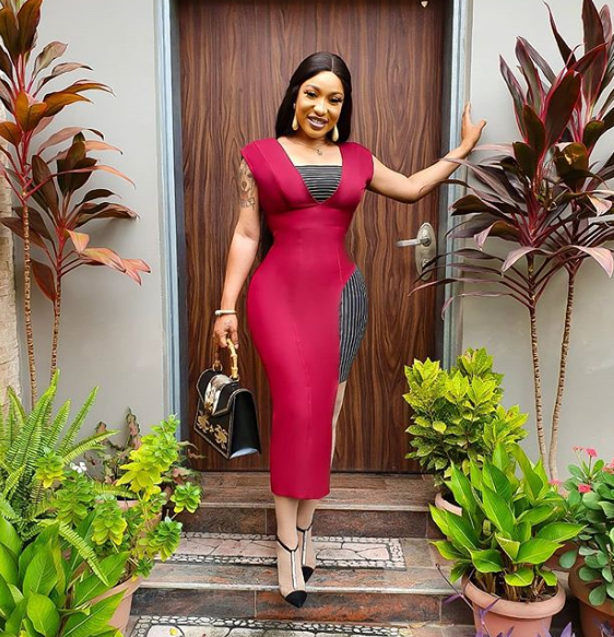Don't lower your standard for any man again - Tonto Dikeh says as she forgives herself