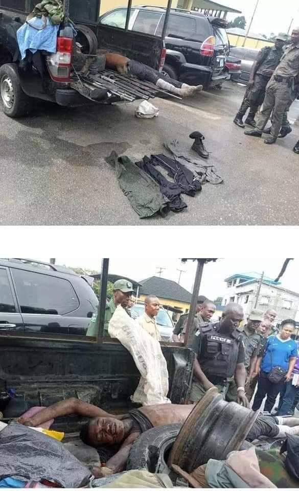 Police kill Abacha, a notorious armed robber and kidnapper in Rivers ( graphic photos)