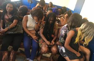Nigerian Queen Mother of prostitutes in Ghana arrested