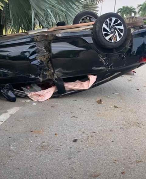 Photos: 24-year-old Nigerian student killed in accident in Malaysia