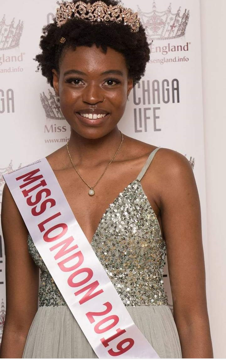 Zimbabwean becomes first black woman ever to be crowned Miss London