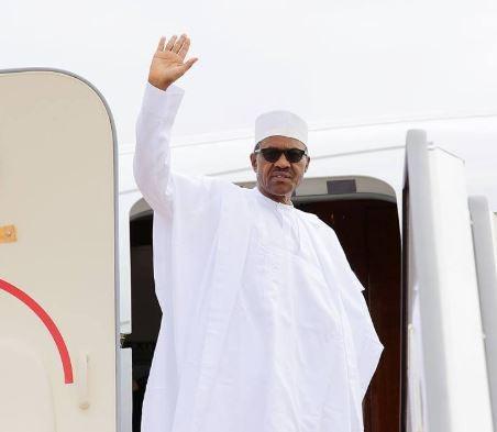 President Buhari departs Abuja to celebrate?Eid-el-Kabir in Daura