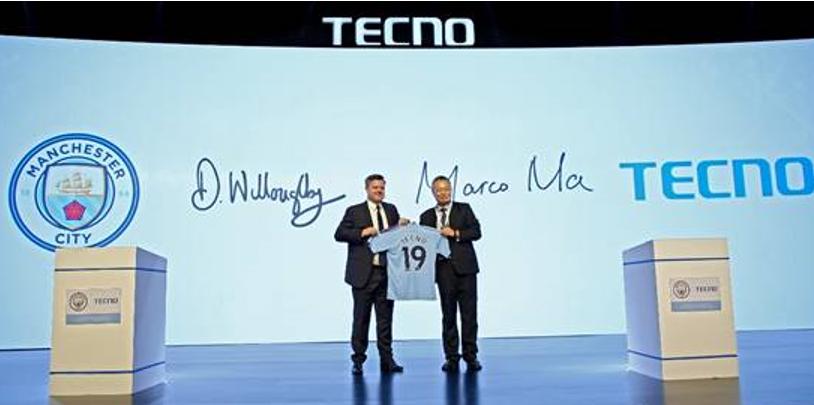 Award-Winning Tecno Renews Its Multi-Year Partnership With Winning Manchester City Football Club