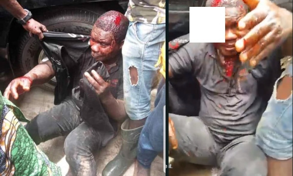 Policeman killed by mob for 'shooting' pregnant woman dead in Lagos