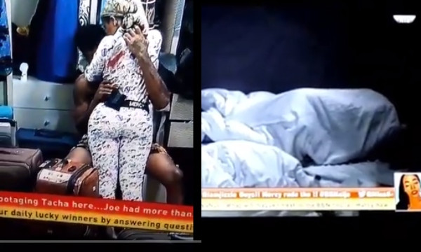BBNaija: Ike's luck up with Mercy, finally has sex with her