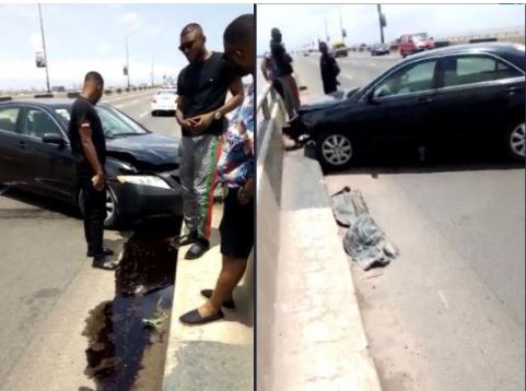 Sallah: Driver narrowly escapes death in car accident on Third Mainland Bridge