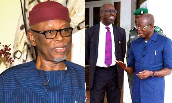 Nobody knows why Obaseki and Oshiomhole are fighting ? Oyegun