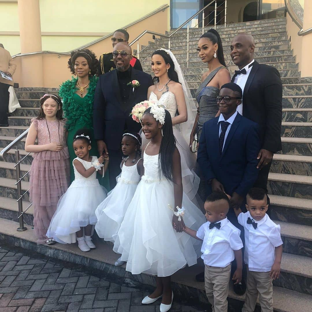 Ex-husband of International supermodel, Ojy Okpe, remarries (photos)