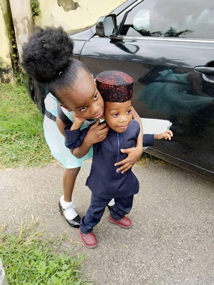 Abia Commissioner loses his wife and two kids in accident (photos)