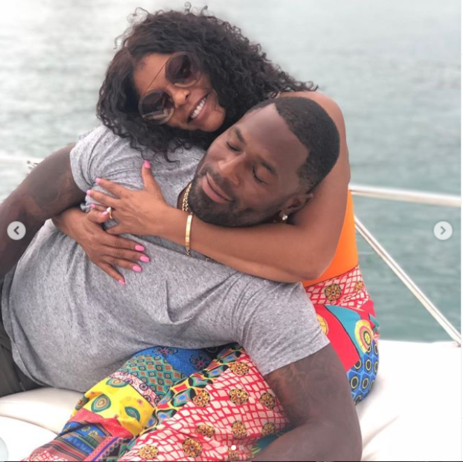 Actress Taraji P. Henson shares new loved-up photos with her fiance Kelvin Hayden