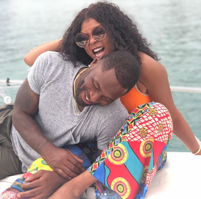Actress Taraji P. Henson shares new loved-up photos with her fiance Kelvin Hayden