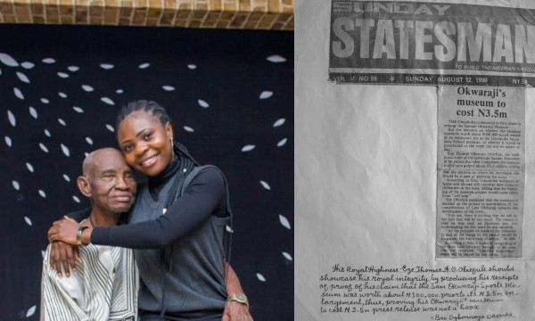 Lady seeks justice for her grandfather who has not been paid, 30 years after designing 186 artworks in celebration of Sam Okwaraji