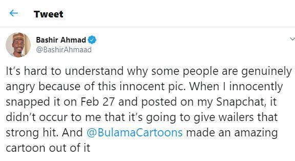 Bashir Ahmad wonders why