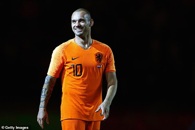 Former Inter Milan and Holland midfielder Wesley Sneijder retires from football at 35