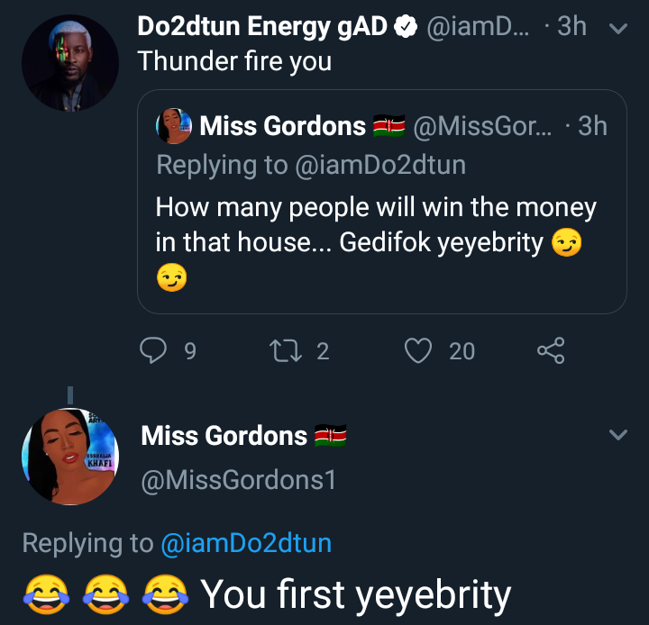 OAP Dotun and a Twitter user drag each other over BBN