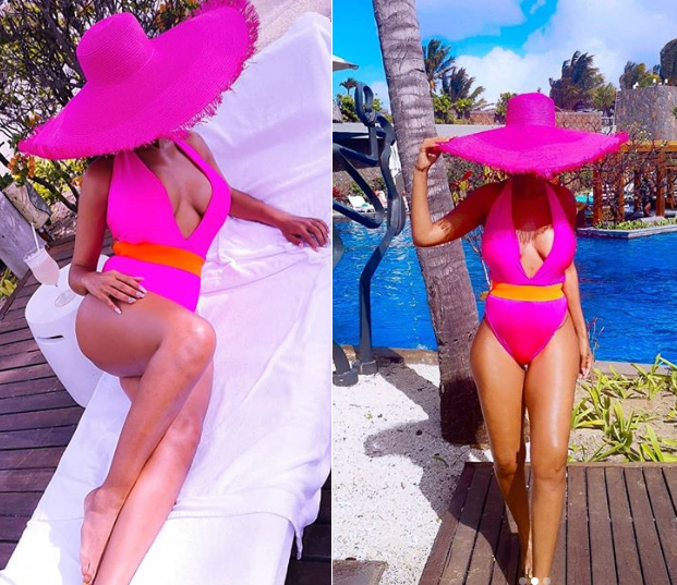 Newly single Nhlanhla Nciza of music group, Mafikizolo flaunts her hot body after splitting from husband of 15-years