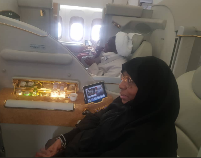 Photos: El-Zakzaky, wife arrive India for treatment