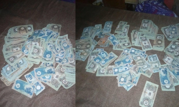 Lady shares photos of Biafran currencies she found in her Dad