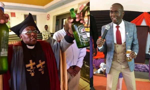 'In God there's liquor, Amstel, Amen' – South African Pastor defends colleague who gave congregants beer during holy communion