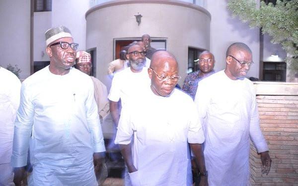 Selfish forces behind rift with Obaseki ? Oshiomhole