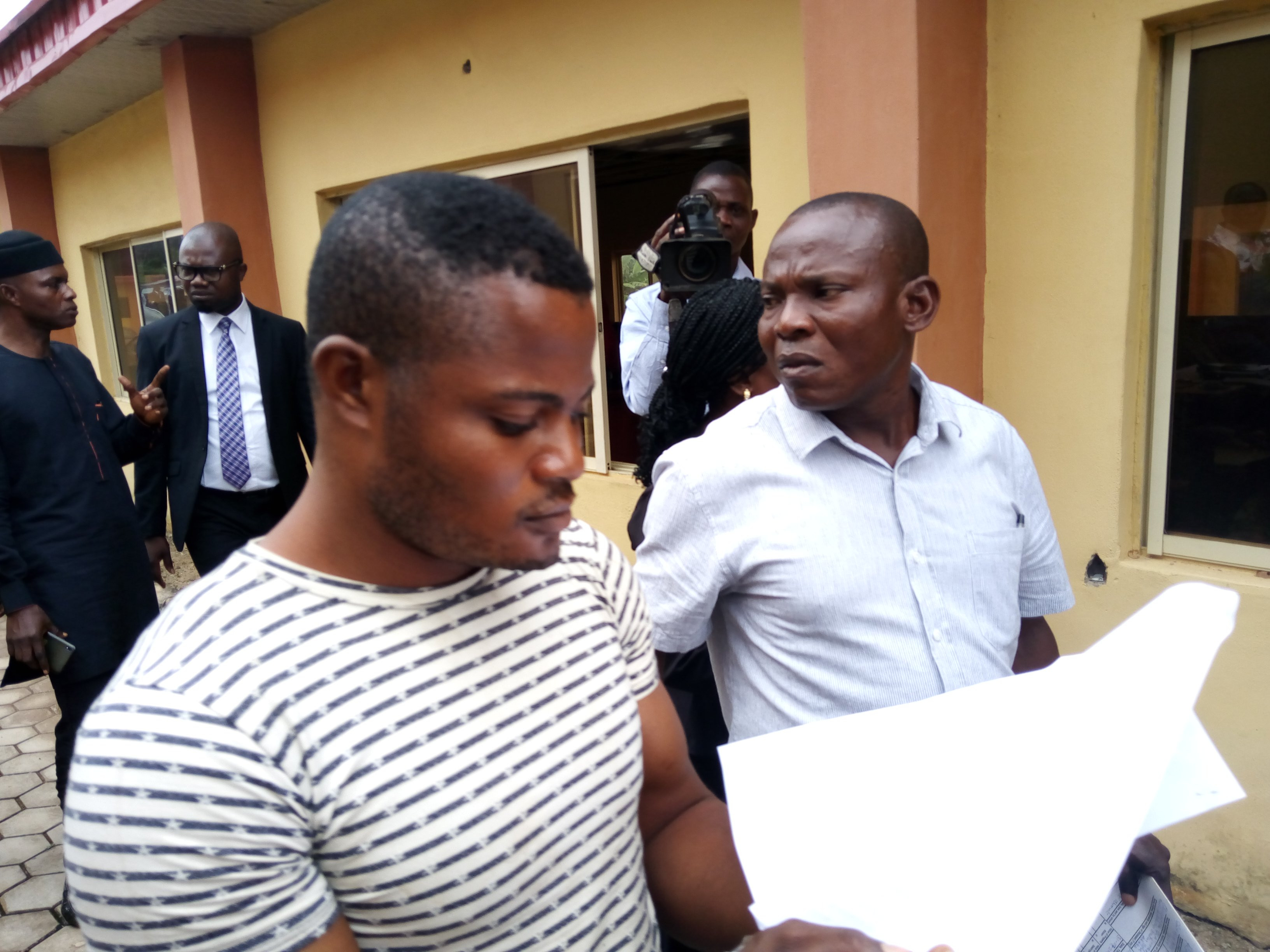 Soldier who raped Adekunle Ajasin University student arraigned, see his photos