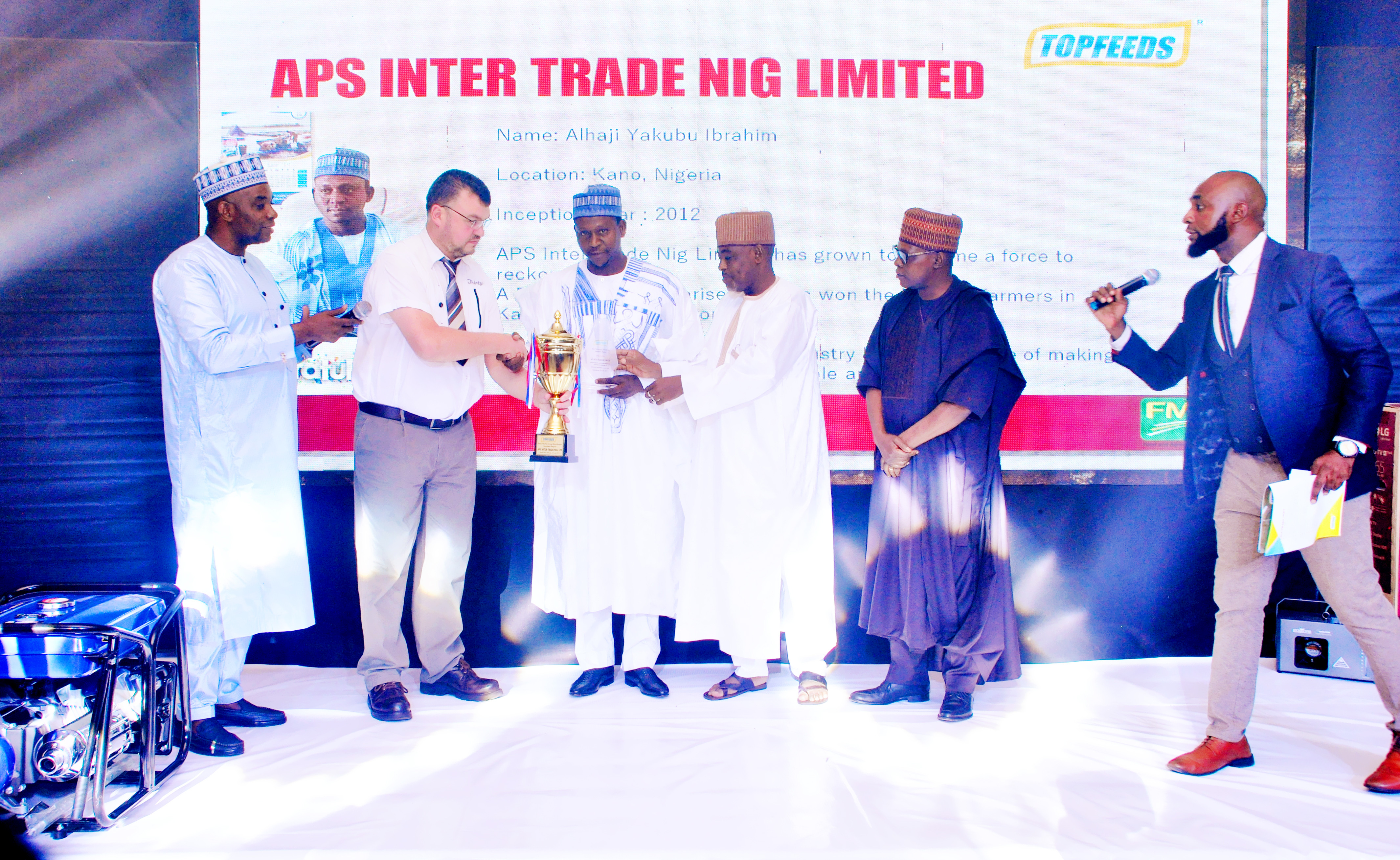 Topfeeds host groundbreaking convention for trade partners across the country in Ibadan Oyo State