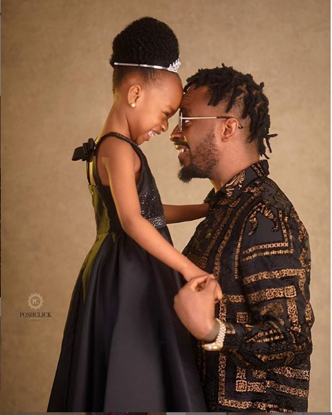 9ice shares adorable photos as he celebrates daughter