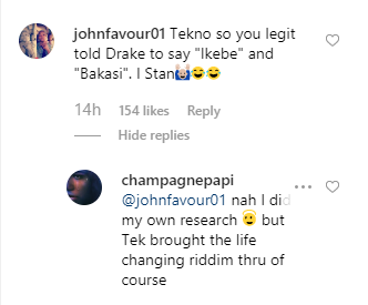 Drake reveals how he got to know about