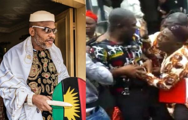 Nnamdi Kanu speaks up on attack on Senator Ike Ekweremadu. Says it serves as a warning to other  Igbo politicians