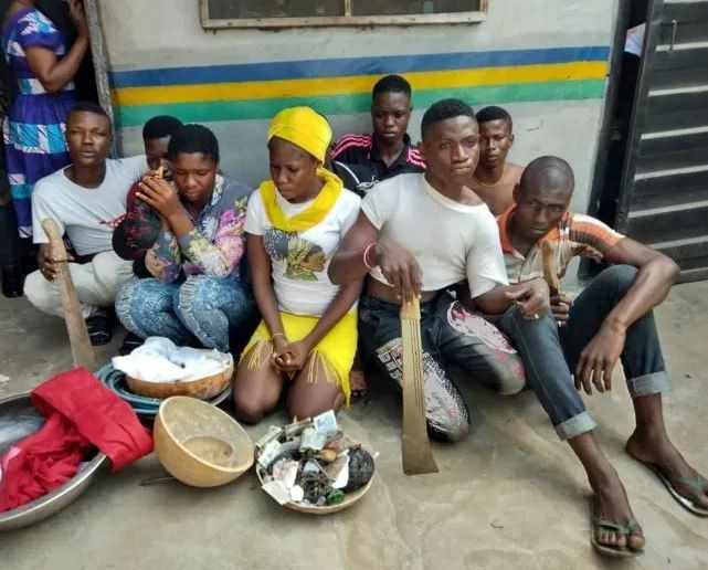 Female cultists, 7 others arrested during initiation into ?One Million Boys? in Lagos