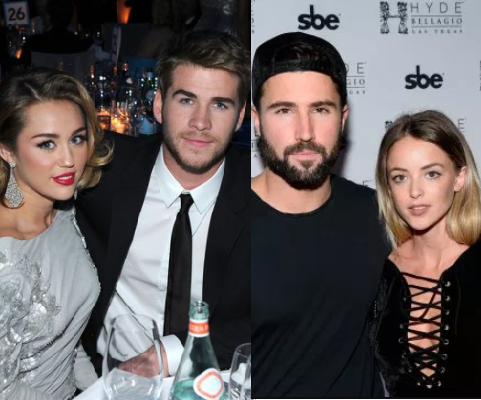 """Miley Cyrus and Liam Hemsworth used to """"always hang out"""" with Kaitlynn Carter and Brody Jenner before split"""