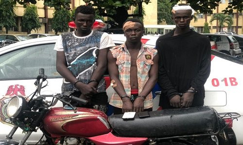 RRS arrests suspected traffic robbers (photo)