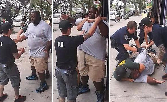 NYPD fires officer who put Eric Garner in chokehold even as he shouted