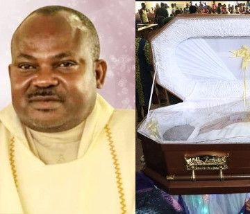 Photos from the Vigil mass for Rev Fr Offu killed by suspected herdsmen