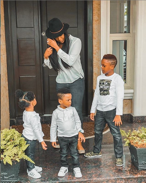 Paul Okoye's wife Anita shares interesting things about their three adorable children