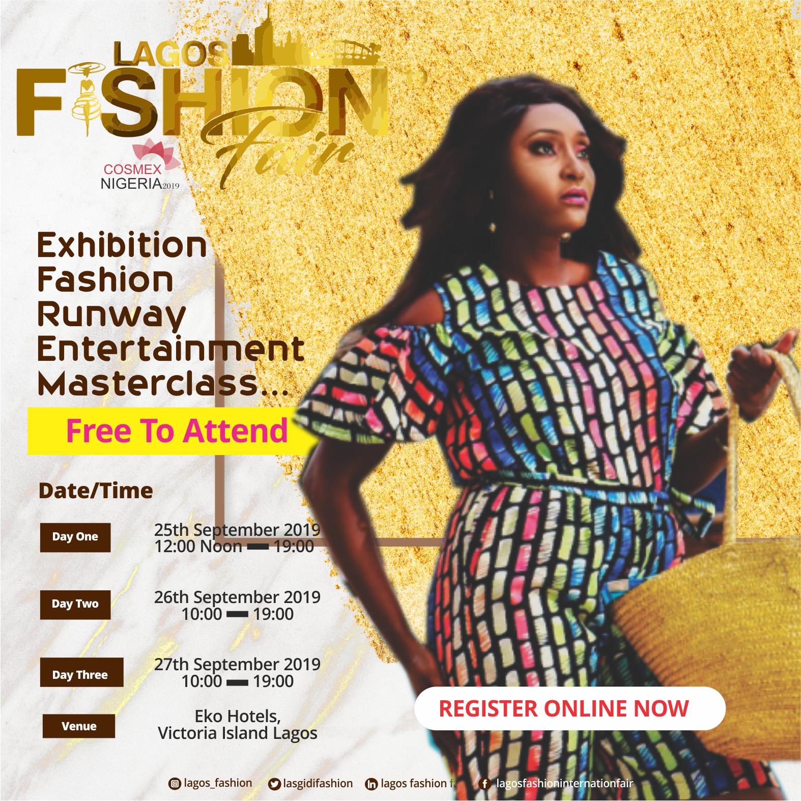 Plan to Attend Lagos Fashion Expo 2019