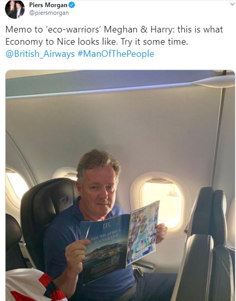 Piers Morgan mocks