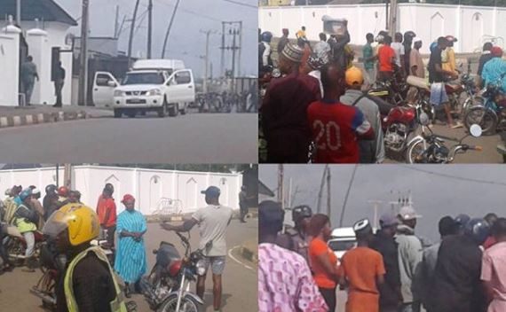 Video:?Epe residents lay curses on Tinubu, others following EFCC