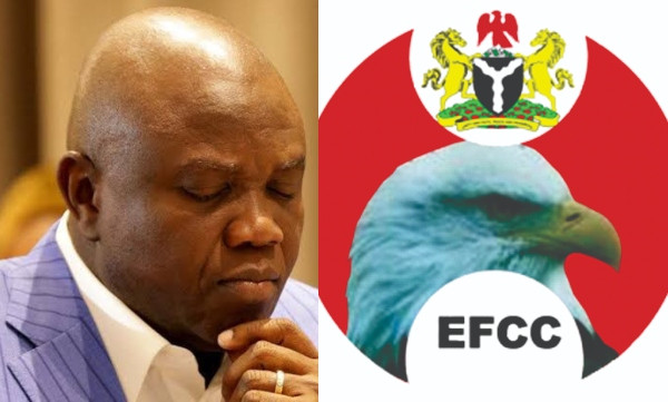 EFCC finally admits raid, but says they were attacked by Ambode's hoodlums