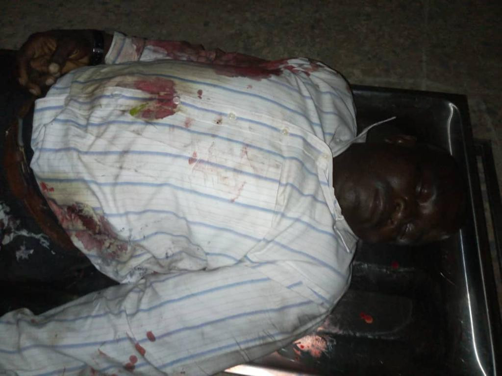 Graphic Photos: Three policemen and one civilian killed as gunmen attack convoy of Nassarawa State Deputy Governor