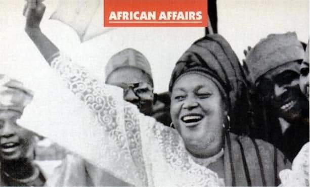 Beautiful new photo of late Alhaja Kudirat Abiola