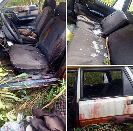 Gunmen kill APC Vice Chairman in Rivers State (graphic photo)