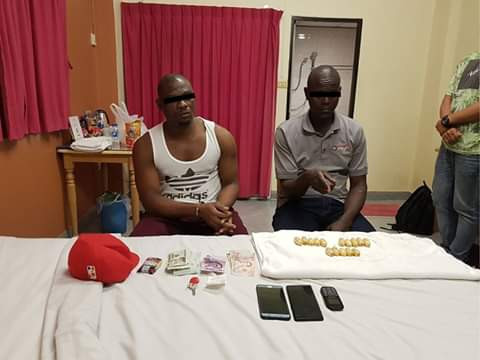Photos: Nigerian man arrested in Thailand after his Kenyan drug mule was caught at airport with 68 capsules of cocaine in his stomach