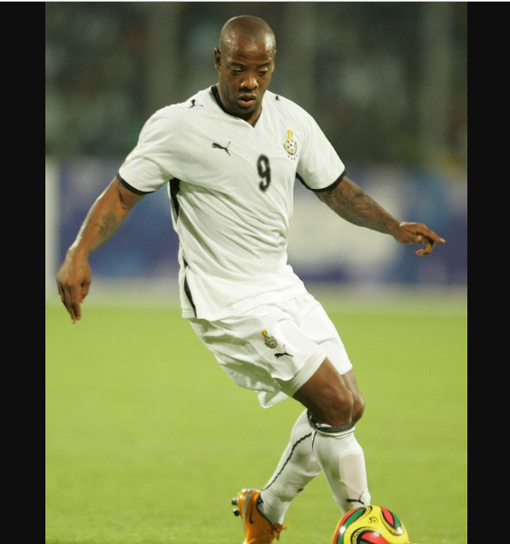 Former Ghanaian striker Junior Agogo dies in London after long battle with stroke